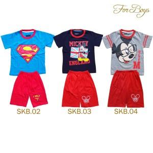 Kaos karakter yang disukai anak-anak